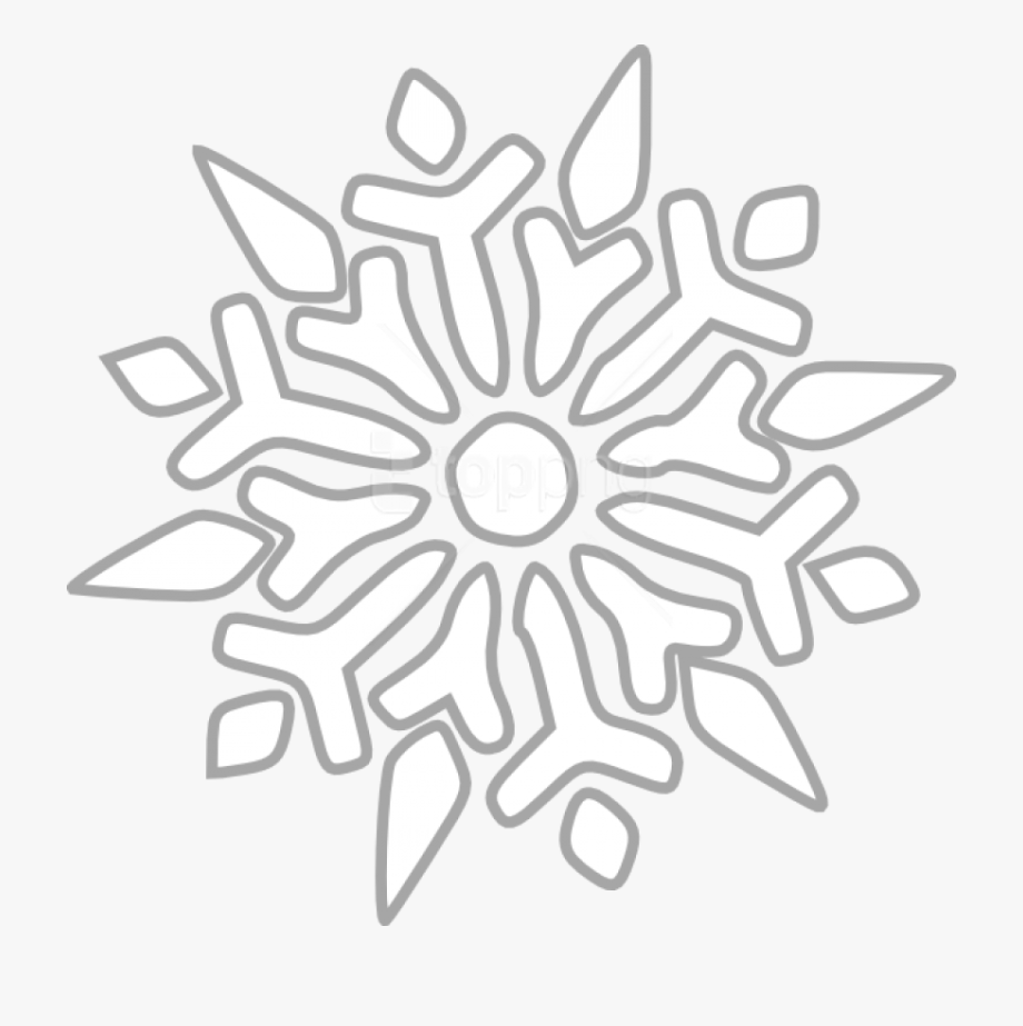 Cartoon snowflake clipart clip art library library Free Png Snowflake Png Images Transparent - Snowflake Clipart ... clip art library library