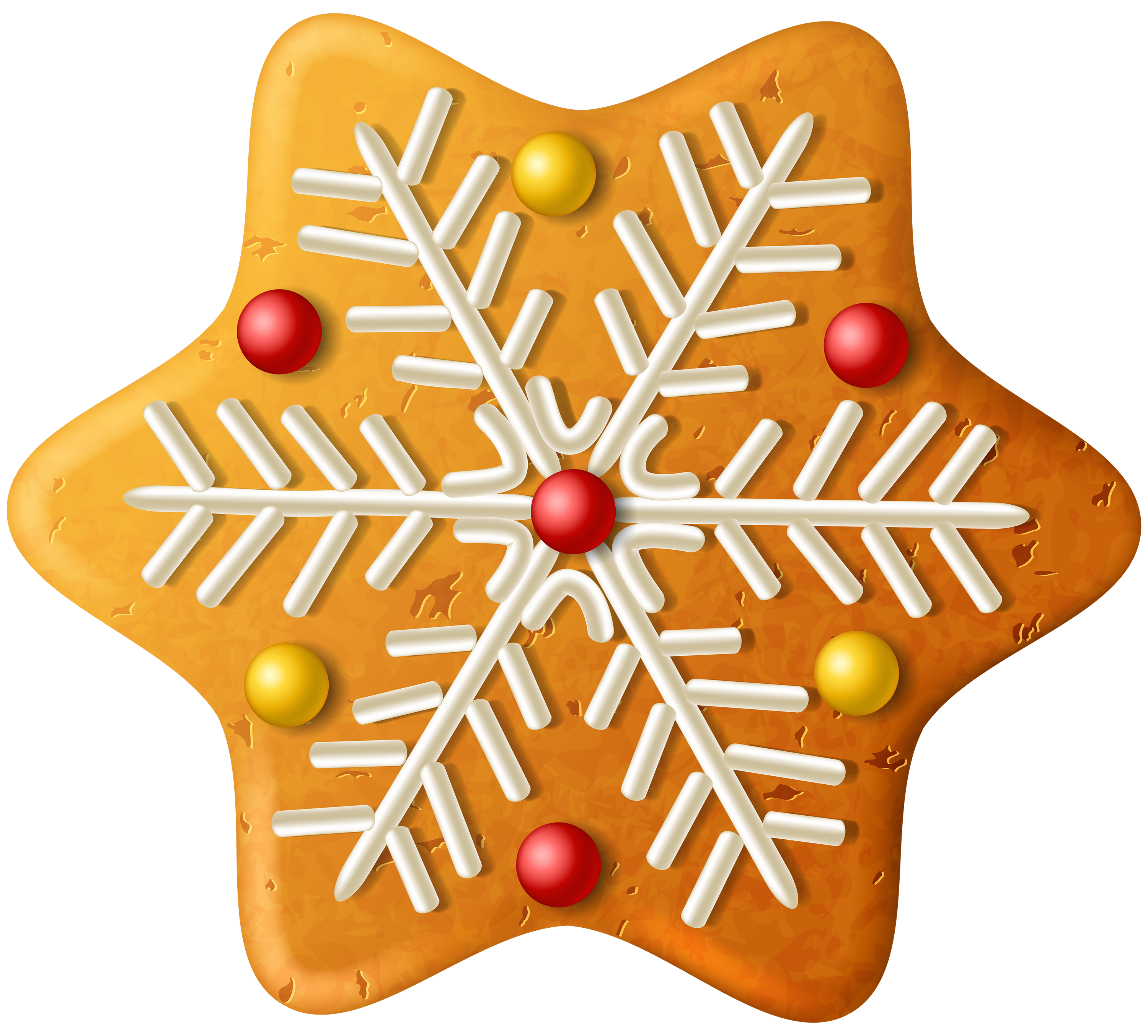 Christmas cookies clipart free graphic transparent download Christmas Cookie Snowflake PNG Clipart Image | Gallery Yopriceville ... graphic transparent download