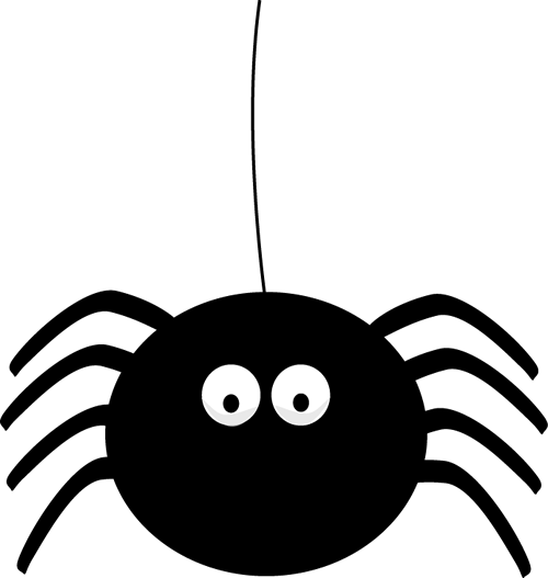 Cartoon spider clipart picture freeuse library Cute Halloween Spider Clipart | Clipart Panda - Free Clipart Images ... picture freeuse library