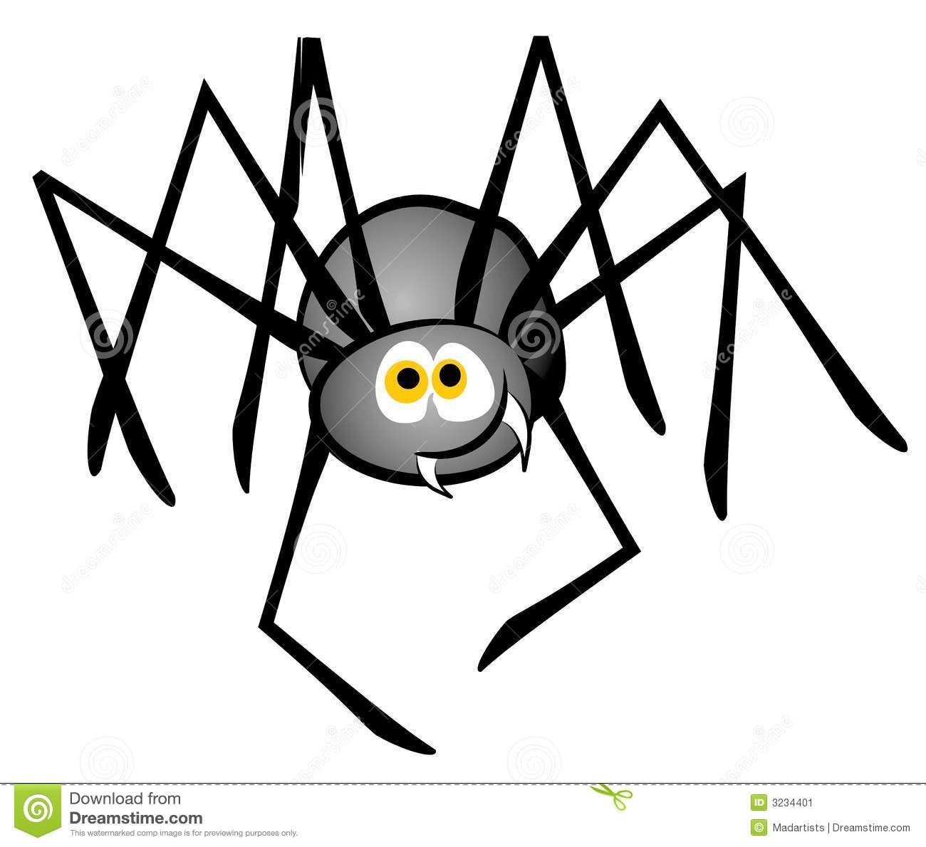Cartoon spider clipart clipart download Cartoon Spider Clip Art Stock Image - Image: 3234401 | Teaching in ... clipart download