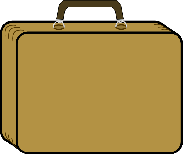 Collection of Suitcase clipart | Free download best Suitcase clipart ... banner library download