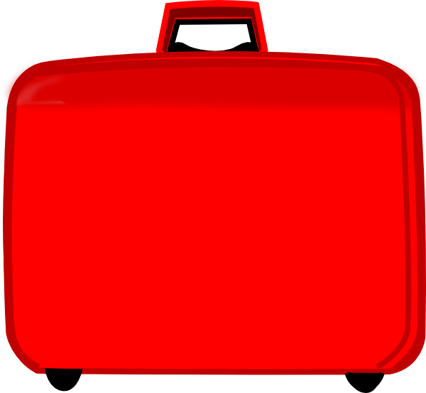 Cartoon suitcase clipart vector stock Free Cliparts Travel Luggage, Download Free Clip Art, Free Clip Art ... vector stock