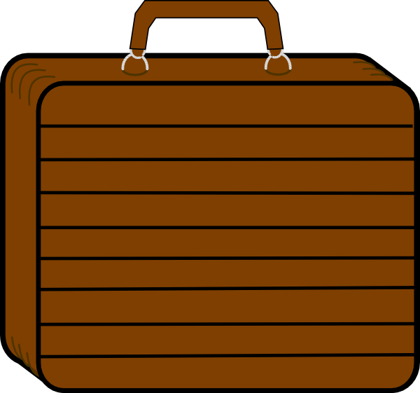 Suitcase Cartoon clipart - Suitcase, Travel, Rectangle, transparent ... picture black and white library
