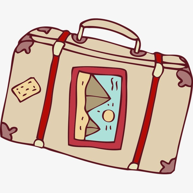 Cartoon Suitcase, Cartoon Clipart, Suitcase Clipart PNG Image and ... clip art royalty free stock