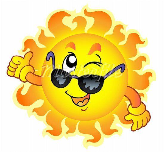 Cartoon sun clipart free graphic transparent download Cartoon Sun With Sunglasses Clipart - Free Clip Art Images | sun ... graphic transparent download