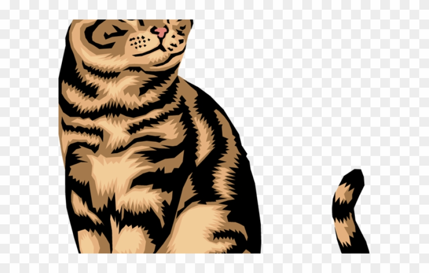 Cat Clipart Mom - Tabby Cat Clip Art - Png Download (#576672 ... svg transparent library