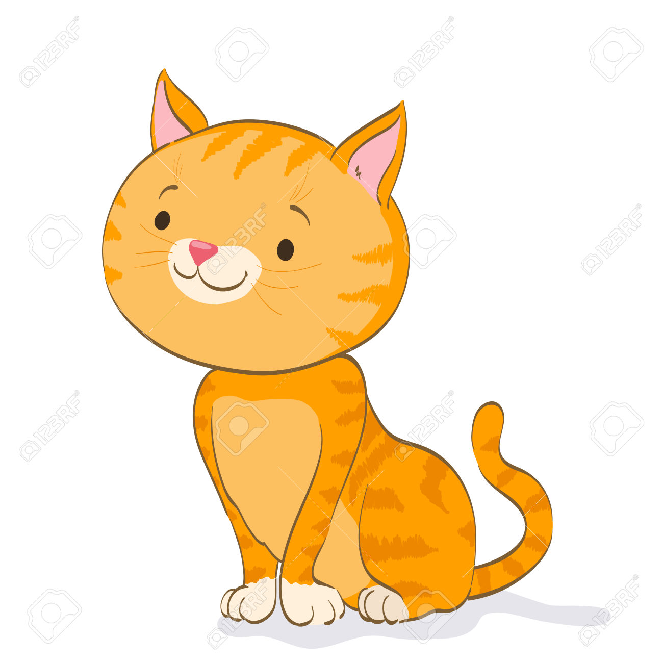 Picture Of Cartoon Cats | Free download best Picture Of Cartoon Cats ... image black and white library