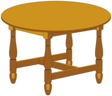 Cartoon table clipart graphic royalty free download Animated Tables | Free download best Animated Tables on ClipArtMag.com graphic royalty free download