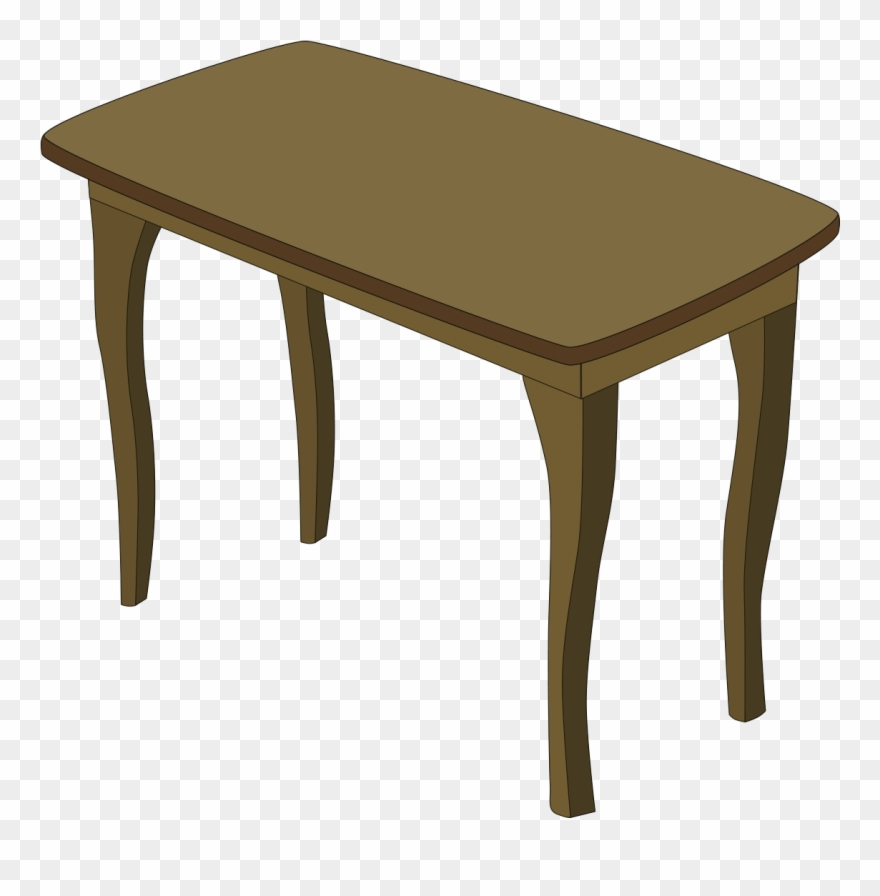 Cartoon table clipart clipart freeuse download Table Bedroom Furniture Clip Art - Transparent Table Cartoon Png ... clipart freeuse download