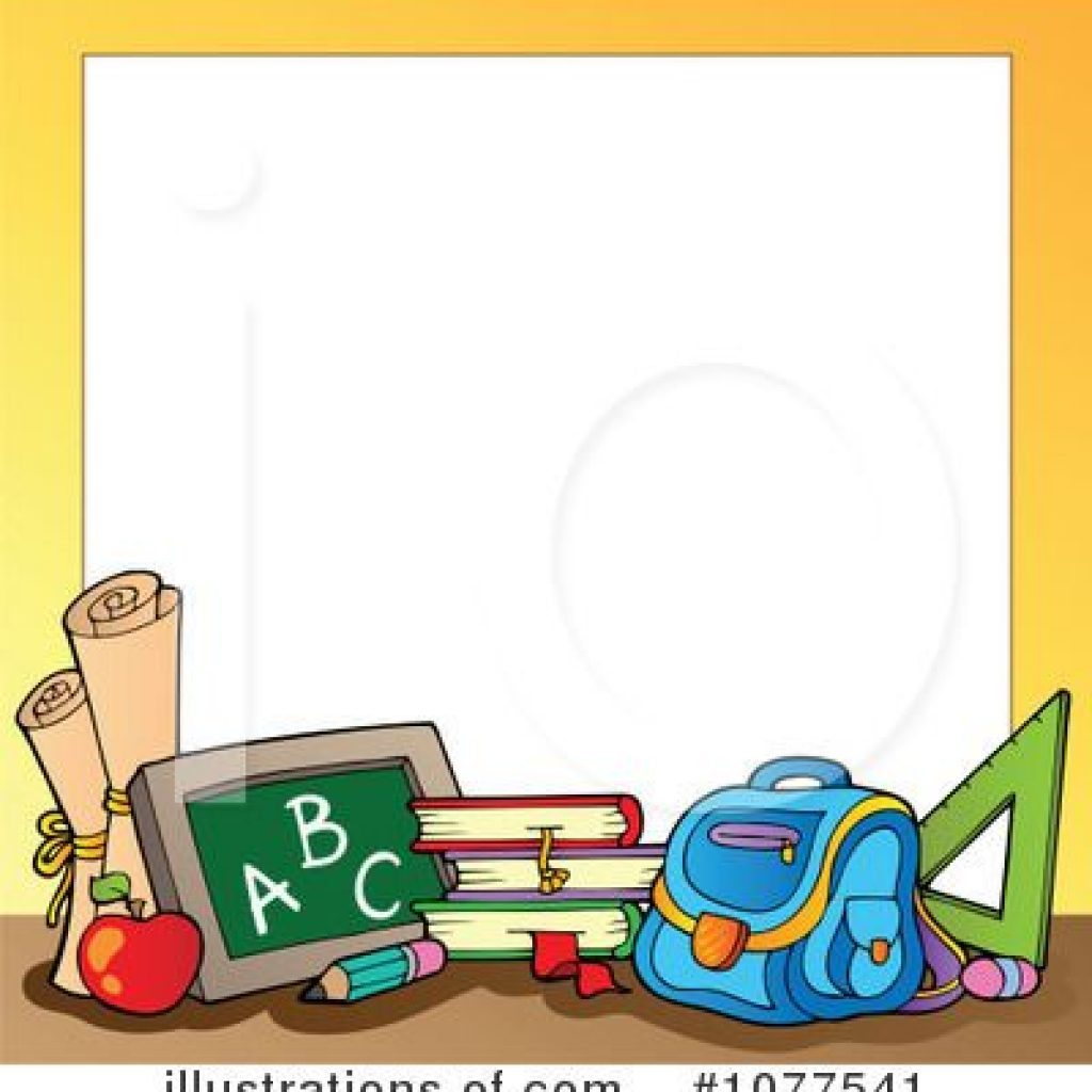 Cartoon teacher border clipart png library library Border clipart for teachers 6 » Clipart Portal png library library