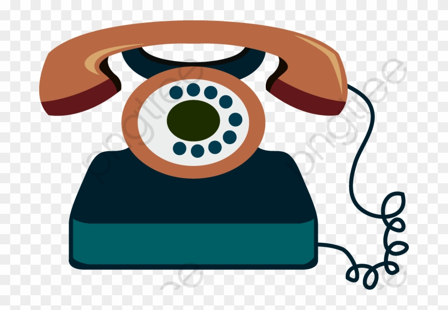 Cartoon telephone clipart png black and white download Telephone Clipart Cartoon - Telefono Cartoon - Png Download ... png black and white download