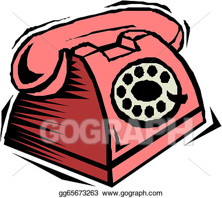 Cartoon telephone clipart banner royalty free EPS Illustration - Cartoon telephone . Vector Clipart gg65673263 ... banner royalty free