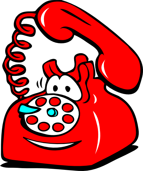 Cartoon telephone clipart png library library Telephone Clip Art Black And White | Clipart Panda - Free Clipart ... png library library