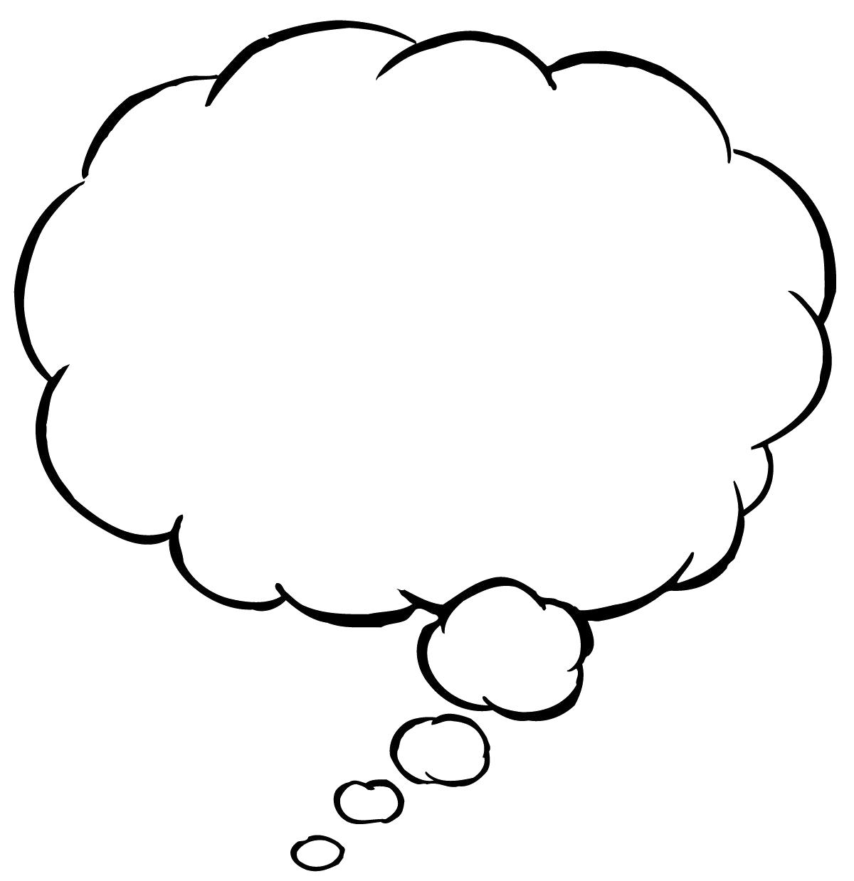 Cartoon Thinking Bubbles | Free download best Cartoon Thinking ... jpg stock