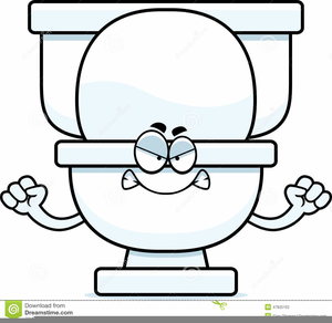 Cartoon toilets clipart picture transparent Cartoon Toilet Clipart | Free Images at Clker.com - vector clip art ... picture transparent