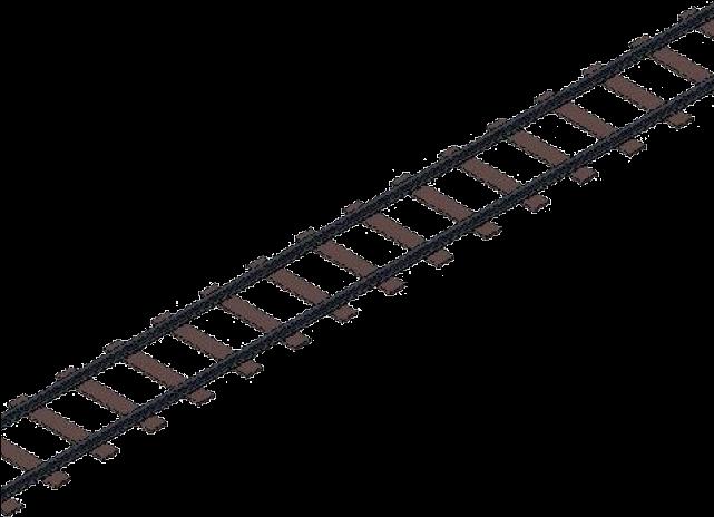 Cartoon train tracks clipart transparent stock Railroad Tracks Clipart - Train Track Png , Transparent Cartoon ... transparent stock