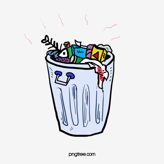 Cartoon Stinking Garbage, Cartoon Clipart, Garbage Heap, Trash Can ... clipart library download