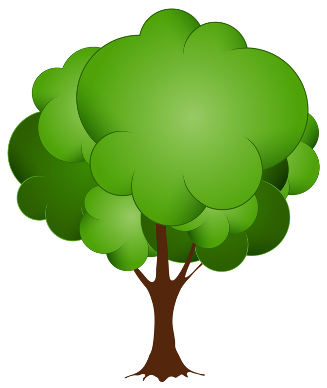 Cartoon tree clipart banner library library Cartoon Picture Of Trees Group (17+) banner library library