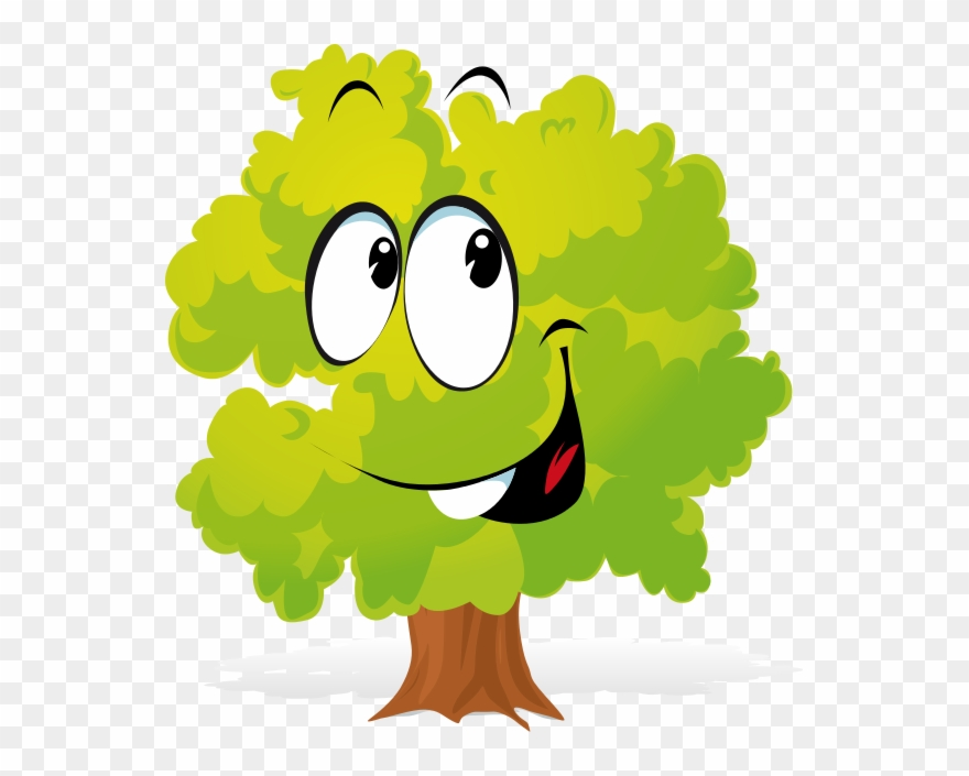 Cartoon tree pictures clipart png free library Free Cartoon Tree Clipart - Tree Cartoon Transparent Png (#51981 ... png free library