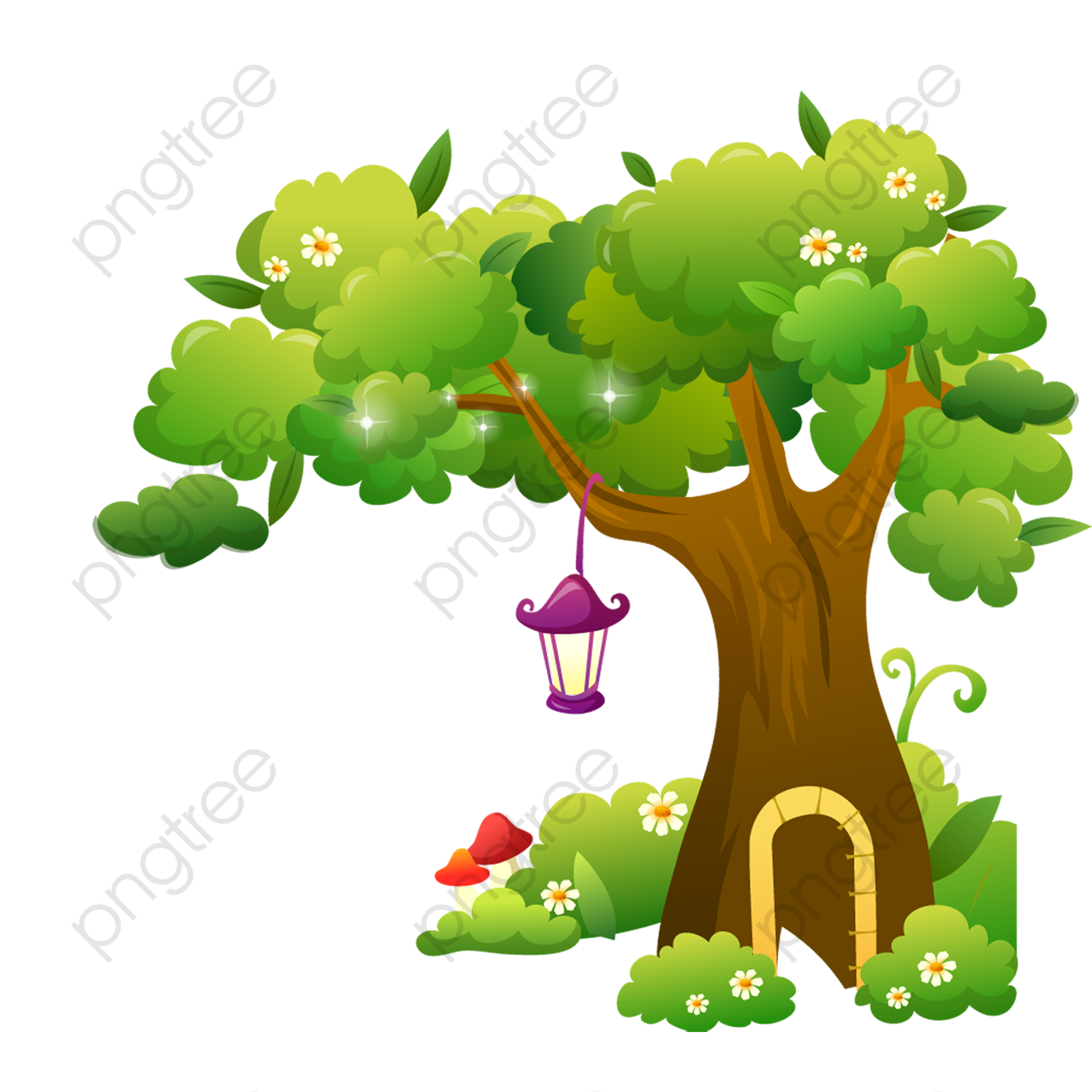 Cartoon Tree, Cartoon Clipart, Tree Clipart, Cartoon PNG Transparent ... graphic download