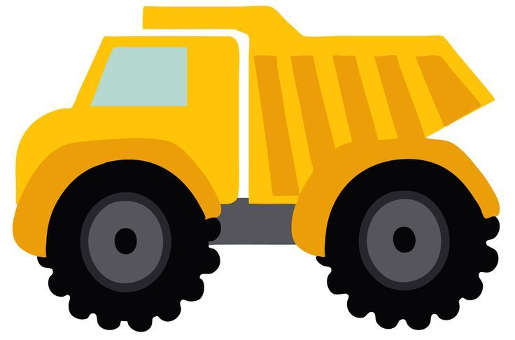Cartoon truck clipart png royalty free Cartoon Truck Birthday Clipart | Education | Construction birthday ... png royalty free