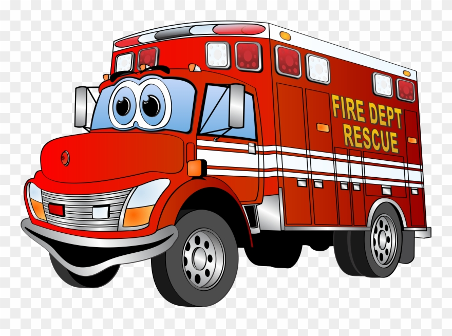 Cartoon truck clipart clip art black and white Clipart Collection - Red Fire Truck Cartoon - Png Download (#5151 ... clip art black and white