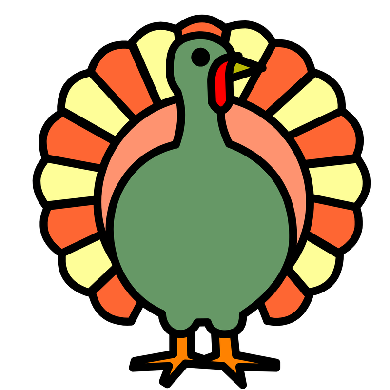 Simple cartoon turkey clipart free clip art library download Turkey Clipart Symbol Free collection | Download and share Turkey ... clip art library download