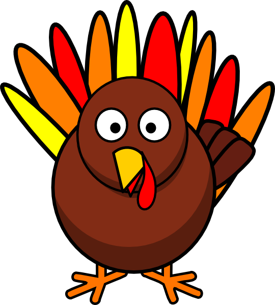 Gobbling Turkey Clipart (54+) picture free download