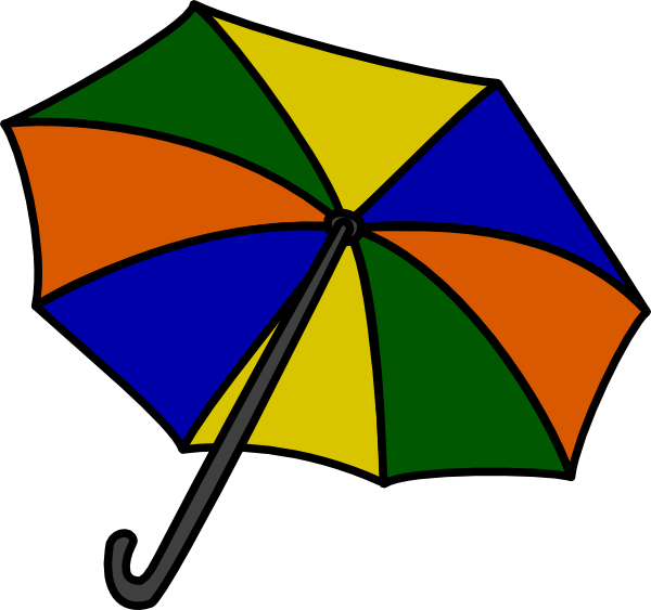 Cartoon umbrella clipart banner library Free Cartoon Beach Umbrella, Download Free Clip Art, Free Clip Art ... banner library