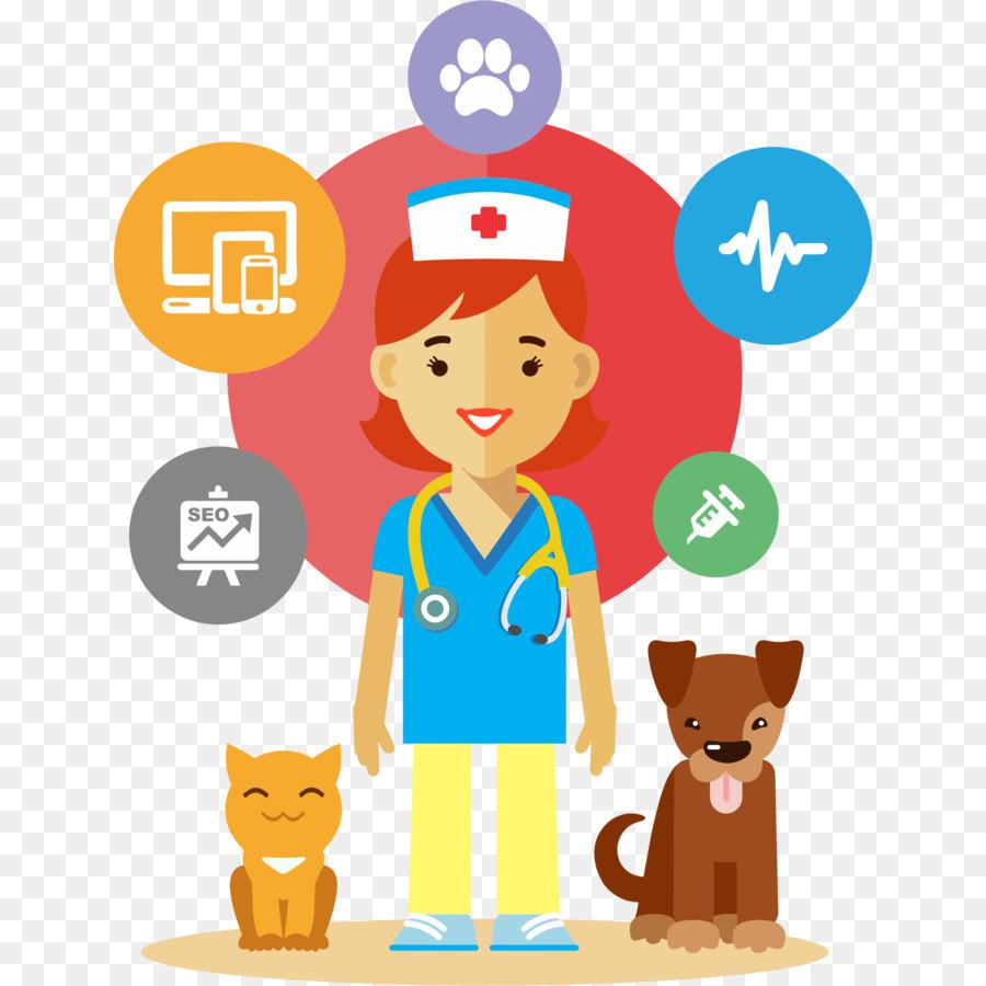 Cartoon veterinarian clipart vector free download Medicine Cartoon png download - 2318*2318 - Free Transparent Horse ... vector free download