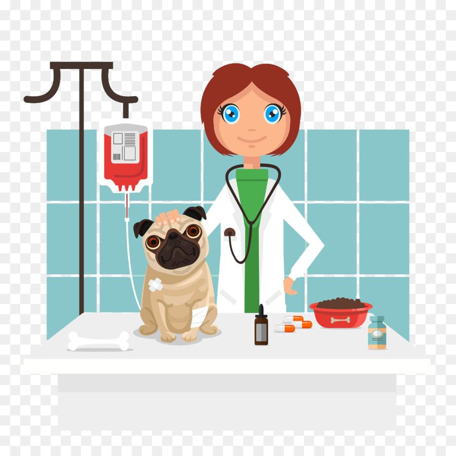 Cartoon veterinarian clipart clipart stock Cartoon Dog png download - 1024*1024 - Free Transparent Dog png ... clipart stock