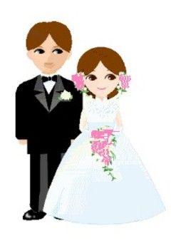 Cartoon wedding couple clipart clip art free library Cartoon Wedding Images - ClipArt Best | weddings cartoon | Wedding ... clip art free library