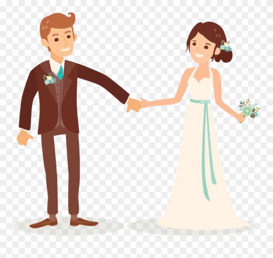 Cartoon wedding couple clipart clip download Cartoon Wedding Couple Png Clipart (#226833) - PinClipart clip download