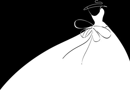 Black bridesmaid dress clipart royalty free library Free cartoon wedding dress free vector download (19,839 Free vector ... royalty free library