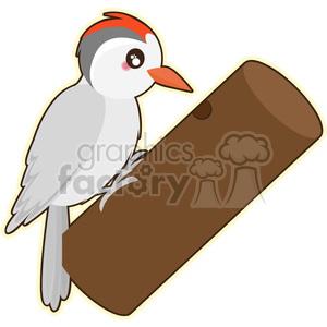 Cartoon woodpecker clipart image free library Woodpecker cartoon character vector clip art image clipart. Royalty-free  clipart # 395250 image free library