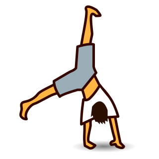 Cartwheel clipart picture freeuse Collection of Cartwheel clipart | Free download best Cartwheel ... picture freeuse