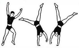 Cartwheel clipart black and white library Free Cartwheel Clipart black and white library