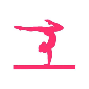 Cartwheel clipart jpg black and white Gymnastics Cartwheel Clipart | Free Images at Clker.com - vector ... jpg black and white