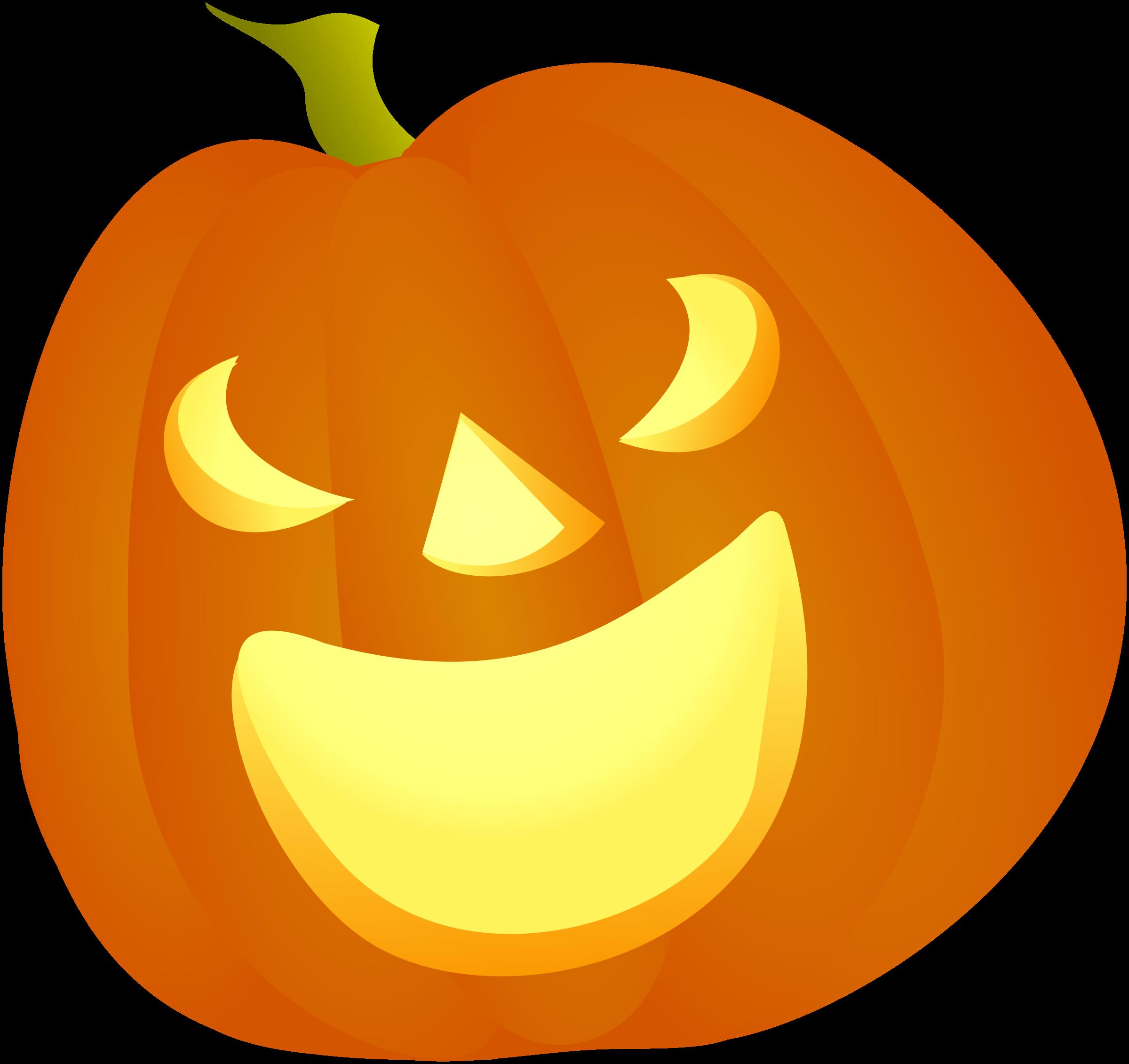 Pumpkin expressions clipart png stock Clipart - Halloween Pumpkin Smile png stock