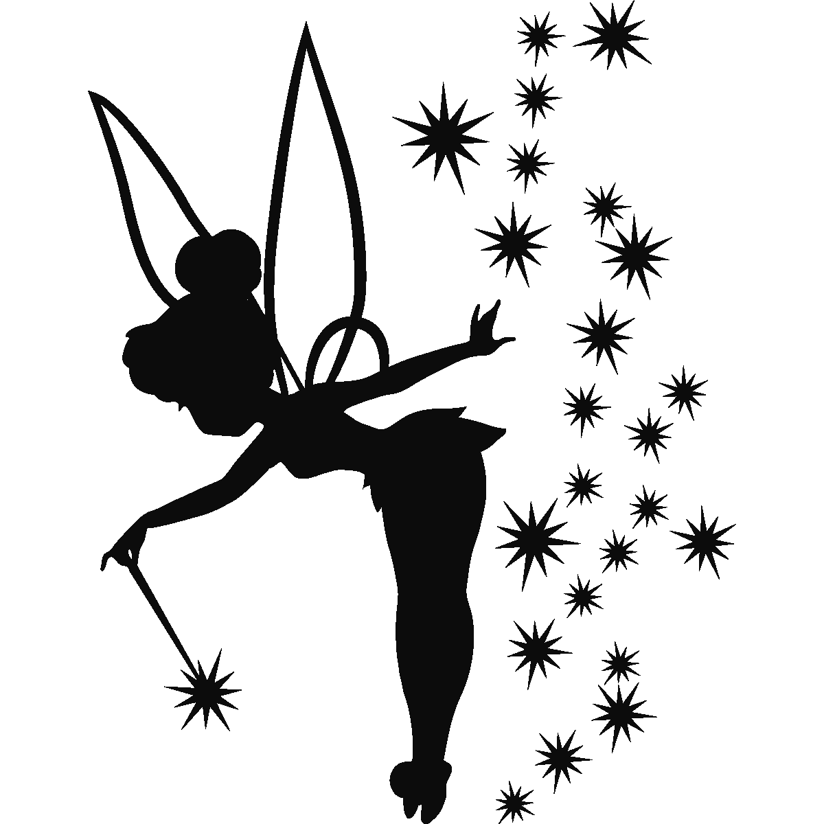 free tinkerbell pumpkin stencil - Gecce.tackletarts.co vector freeuse download
