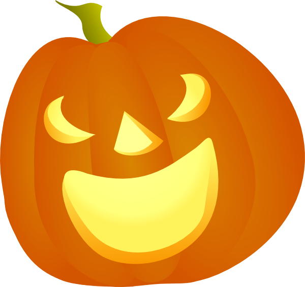 Scary pumpkin face clipart picture free stock Halloween Pumpkin Smile Clip Art at Clker.com - vector clip art ... picture free stock