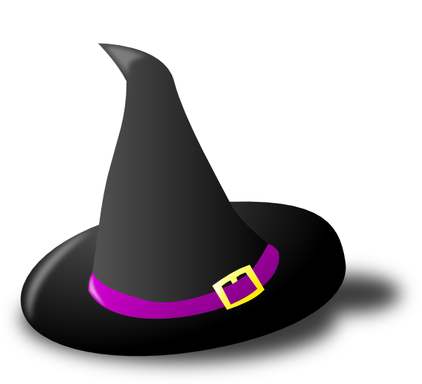 Halloween witch head clipart banner library download Cartoon Witch Hat (54+) banner library download