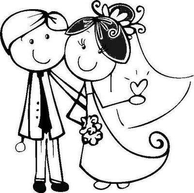 Casar me y tener una familia clipart vector royalty free download Vocabulario: Verbo 2, Casarse- contraer matrimonio | love | Dibujos ... vector royalty free download