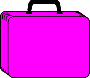 Case clipart picture black and white download Pink Case Clip Art at Clker.com - vector clip art online, royalty ... picture black and white download