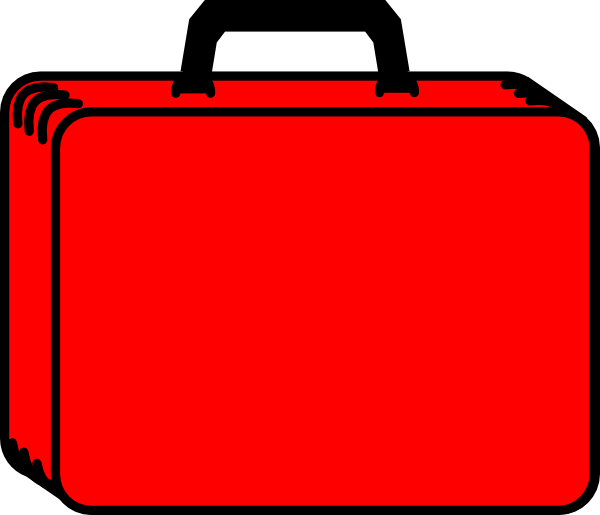 Case clipart picture royalty free library Red Case 2 Clip Art at Clker.com - vector clip art online, royalty ... picture royalty free library