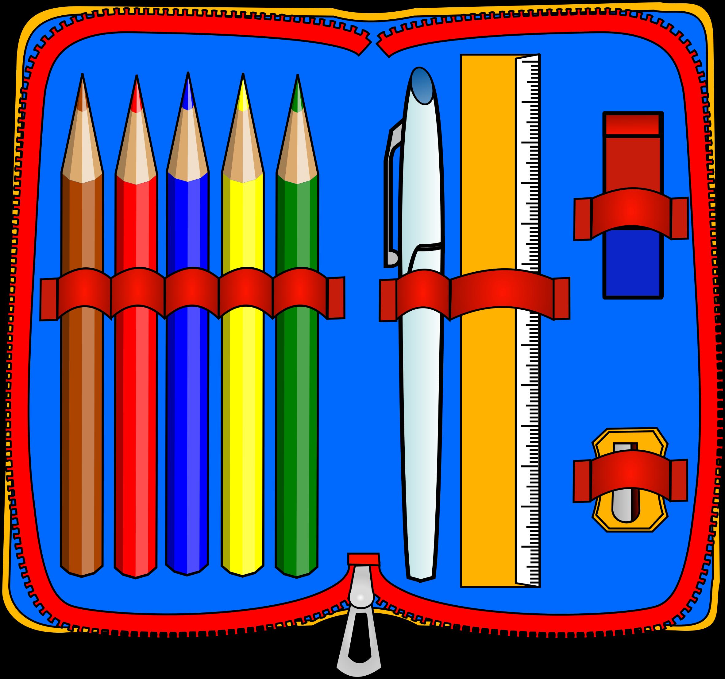 Case clipart graphic Pencil case clipart free - ClipartFest graphic