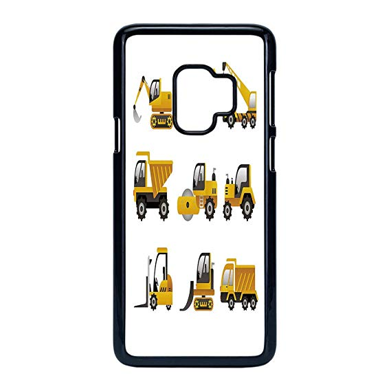 Case construction logo clipart clipart library Amazon.com: Cell Phone Case Compatible Samsung Galaxy S9 ... clipart library
