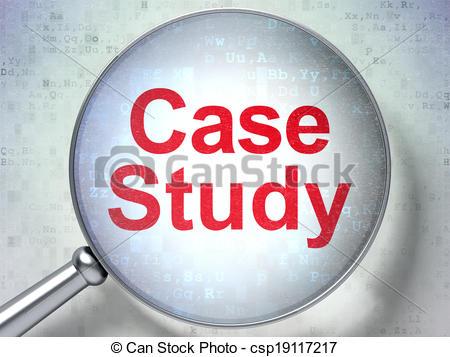 Case report clip art svg transparent download Clipart of Education concept: Case Study with optical glass ... svg transparent download