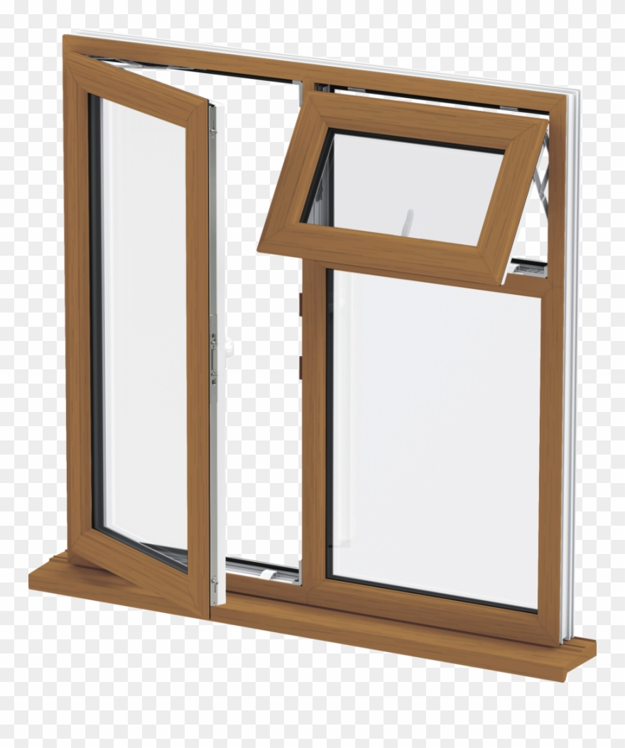 Casement window clipart banner royalty free library Golden Oak Upvc Casement Window Clipart (#3117905) - PinClipart banner royalty free library