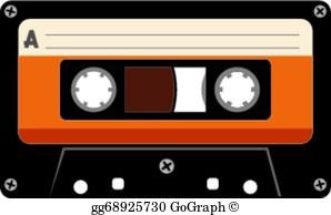 Cassette tape images clipart svg free Cassette Tape Clip Art - Royalty Free - GoGraph svg free